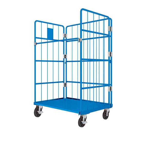 Standard L-type logistics trolley