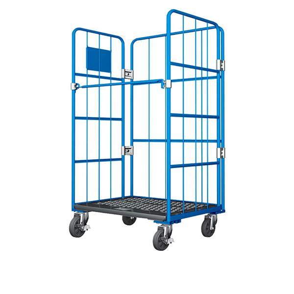 Plastic floor cart