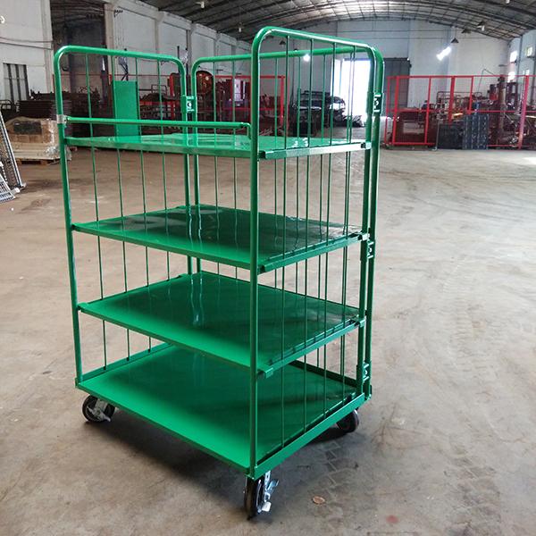 Logistics trolley customization