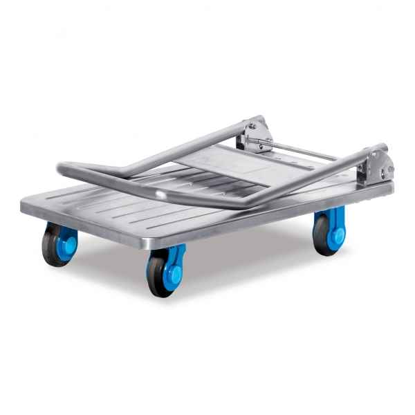 Ultra-quiet stainless steel trolley