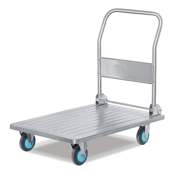 Full static stainless steel trolley