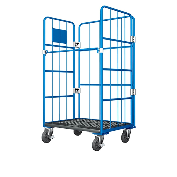 Plastic floor cart